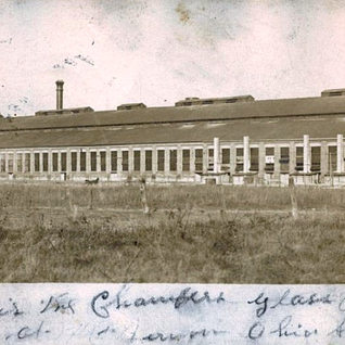 This old post card shows a very early look at the Chambers Window Glass plant in Mt. Vernon.  Circa 1907.