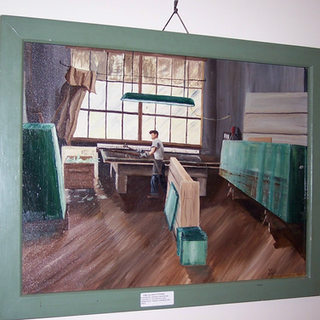 This painting of George Noe at Adamston