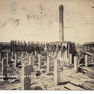 The Utica is destroyed by fire May 10, 1909.