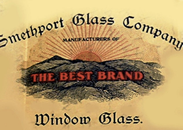 Advertisement of the Smethport Glass Co. before 1900.