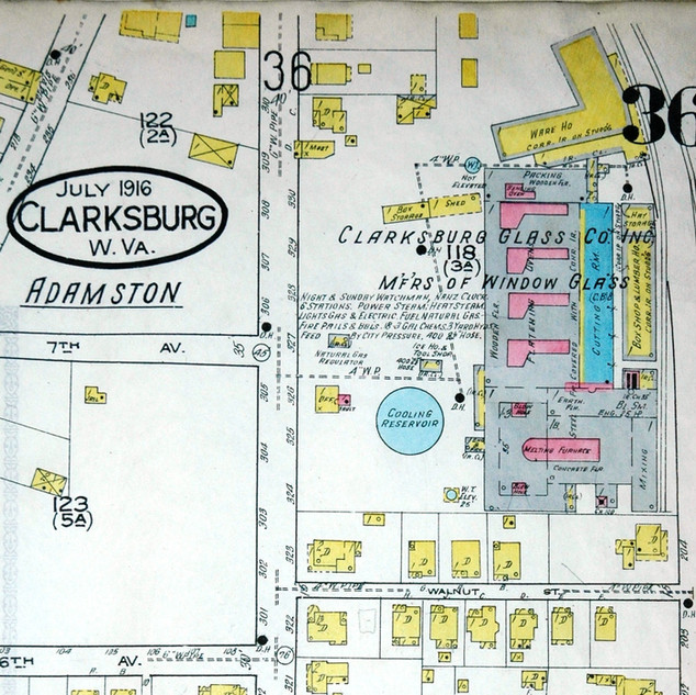 Sanborn map from 1916