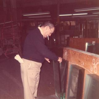 Ex glass cutter became an inspector of fellow cutters production.