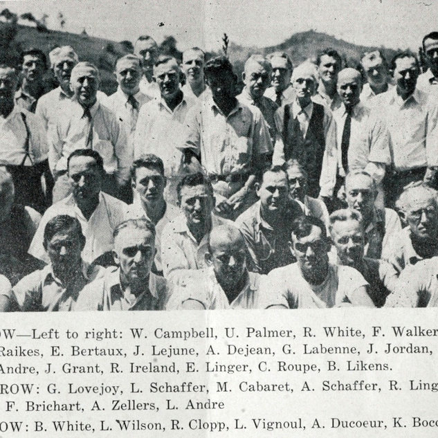 Hopefully someone will find relatives in these many photos from the PPG plant.  WVU Library