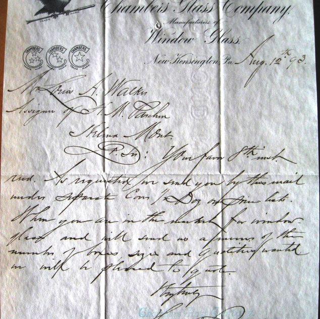 Chambers Glass document