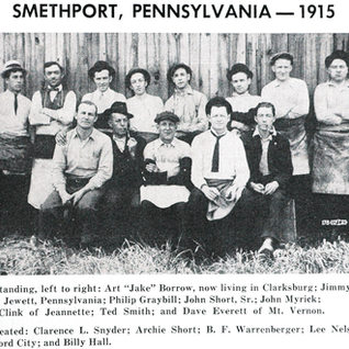 Glass cutters of Smethport 1915.