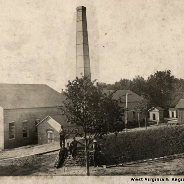 New Martinsville WV.  Wetzel Window Glass Co. 1903.  Photo sometime after1903.