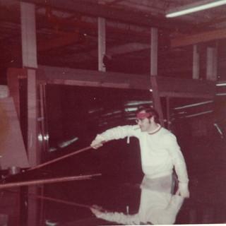 Cutting big heavy 1974.
