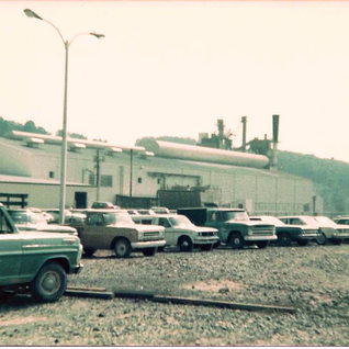 Early days of Fourco's Jerry Run operations in 1975.