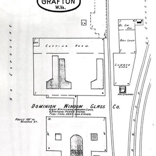 Three plant operators are listed for Grafton WV.  This Sanborn map shows the Dominion in 1911.  It started in 1904 less than a mile from the court house to the east along Three Fork creek.