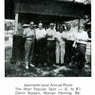 Jeannette Annual picnic 1957