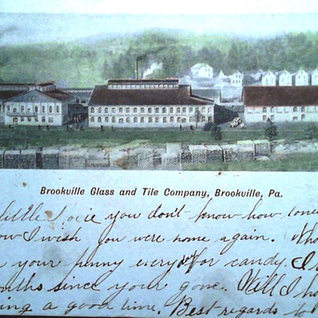 Brooksville's window glass plant was called- Glass and Tile Co.