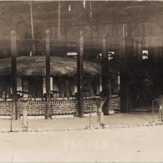 The glass tank either for ideal or Doddridge Window Glass Co. evening of Nov. 1910.