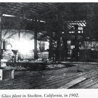 The melting tank at Stockton 1902.