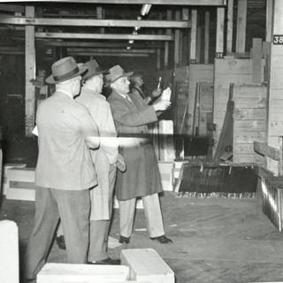 1958 photo taken on top deck cutting room floor.