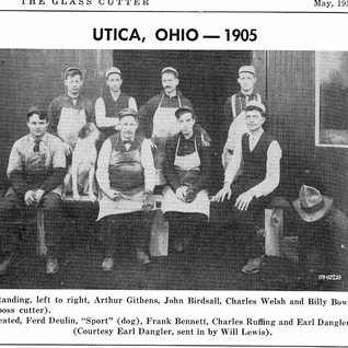 Cutters at the new plant 1905.