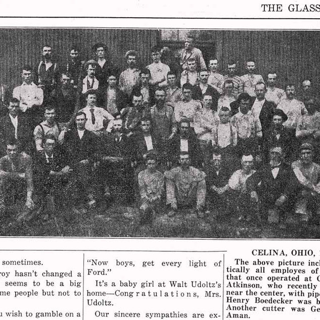 The Celina plant was located in the north west part of Ohio.