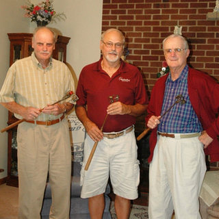 Gus Quertinmont Jr. 89, myself 68, Henry Page Quertinmont 87.
