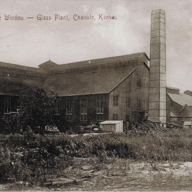Cjanut Window Glass around 1913.