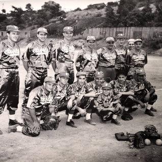 Softball team late 1940's.
