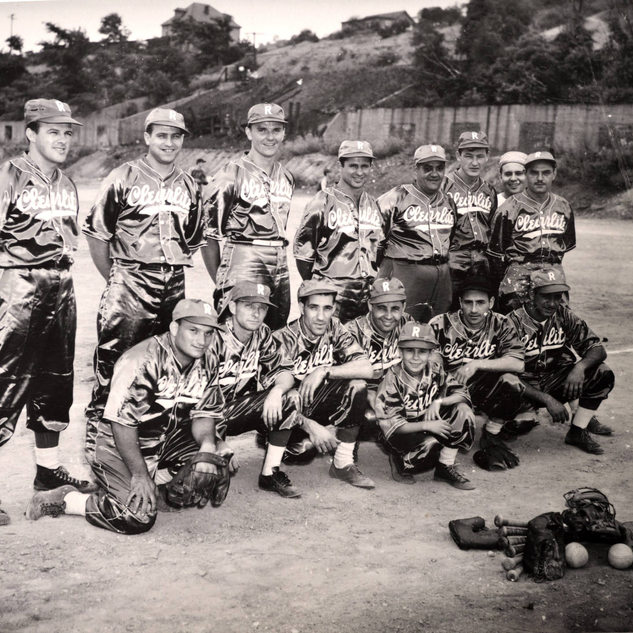 Softball team late 1940's.