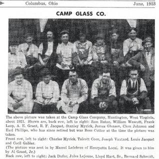 Huntington WV cutters 1921.