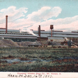 Photo of the Chambers dated Dec.16,1907.  PPG will be the new owner in 1908.