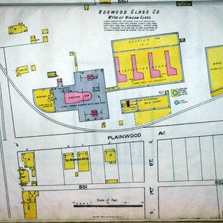 The Norwood window glass co. was located in the Norwood section just south of Clarksburg.