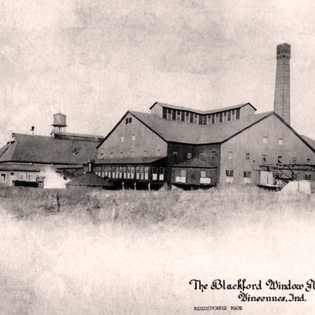 The Blackford Window Glass plant