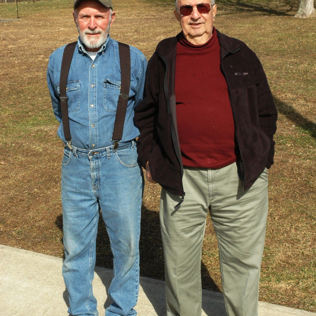 Joe Summers and Eugene Jaumot