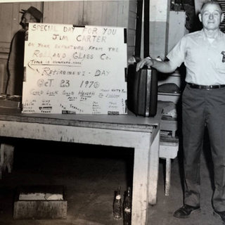 Jim Carter, beloved Rolland man, retired Oct. 23, 1970.