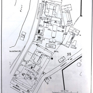 This Sanborn map, 1921, shows the two Crescent plants owned by Interstate Glass Co. #4.