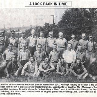 1941 work force at Adamston