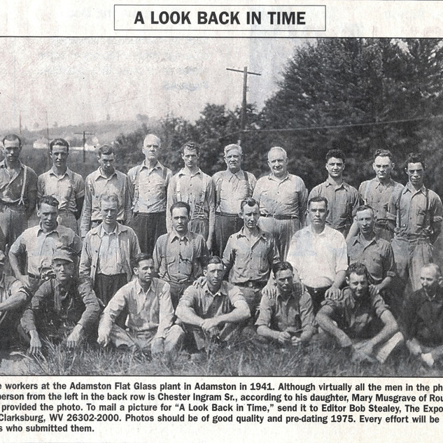 1941 work force at Adamston