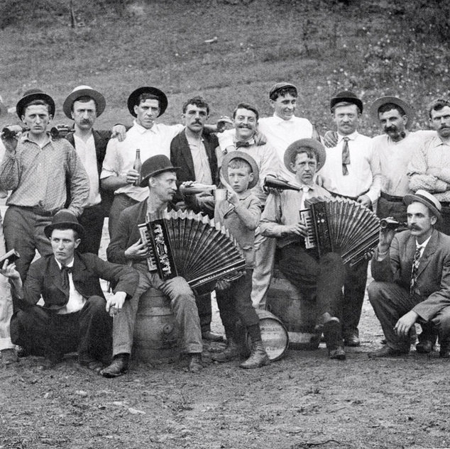 Belgiums were hard workers and when not working were fun loving men.  Salem WV