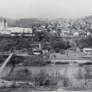 Looking from Adamston to North View, early 1960's.