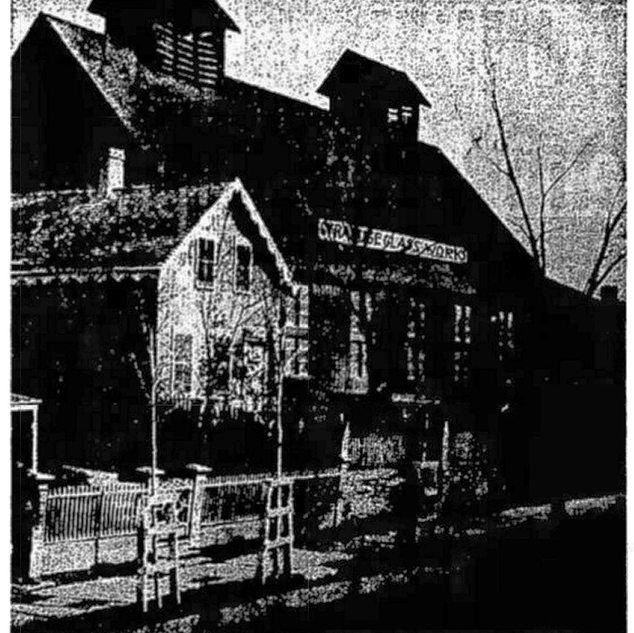 Syracuse Glass Works, c1870
