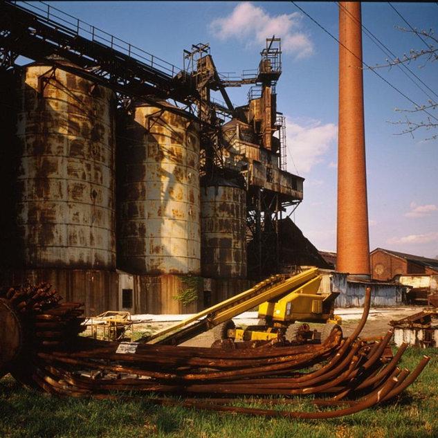 A good look at the batch silos