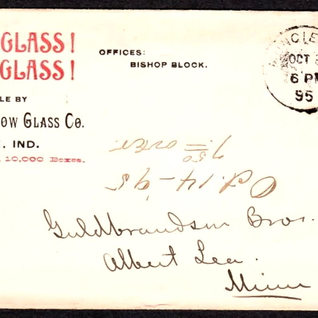 Letter head for the Western Window Glass Co.