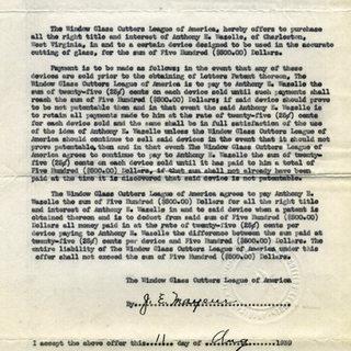 In July 1939 the Window Glass League of America