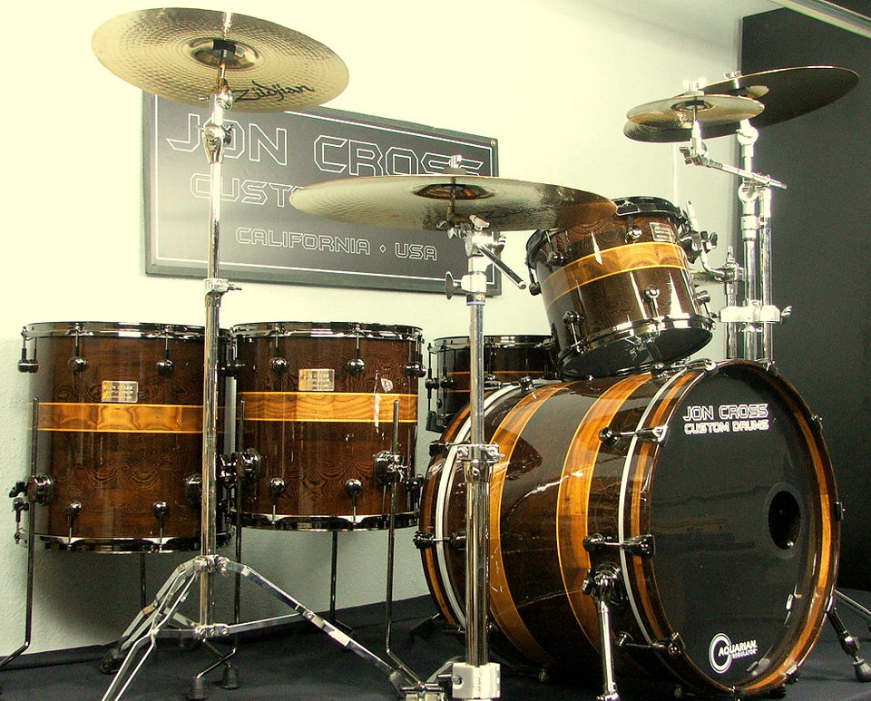 Custom Drums Bubinga with segment shells