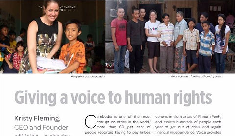 Giving a voice to human rights