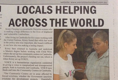 Locals Helping Across the World