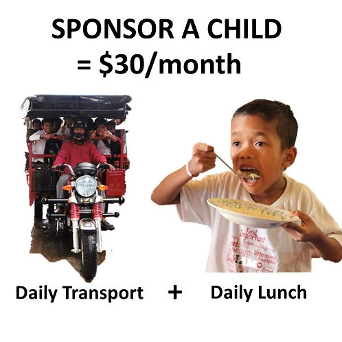Sponsor a Child for a Month