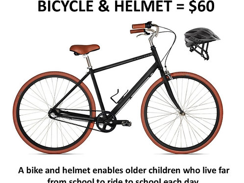 Bicycle & Helmet