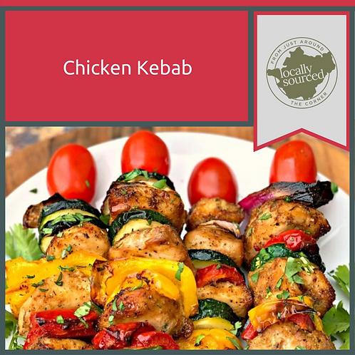 Homemade Chicken Kebabs x 6 1KG Minimum