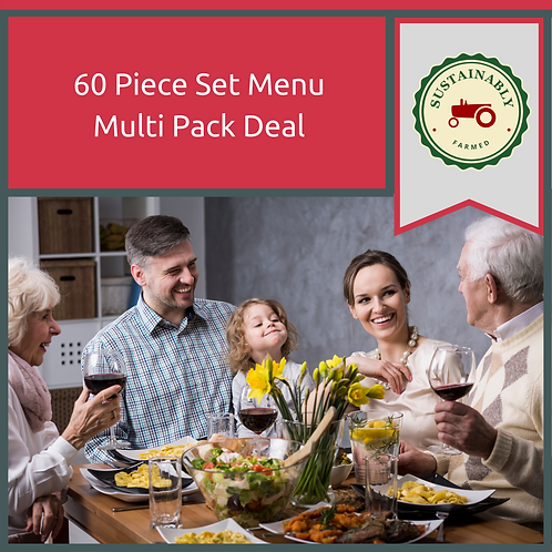 60 Piece Multi Pack Deal