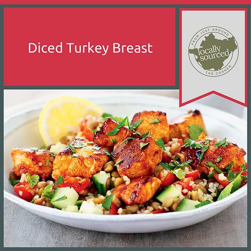 Diced Turkey Breast 1.2kg