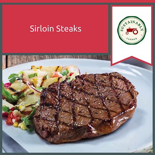8 x 12 oz Sirloin Steaks
