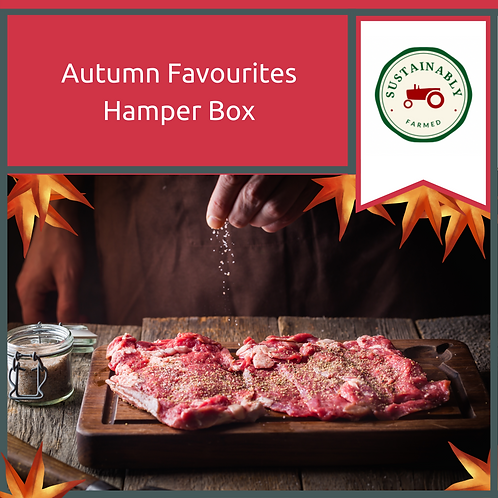 Two Autumn Favourites Hamper Box