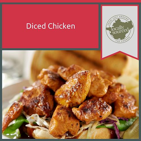 Diced Chicken 600g